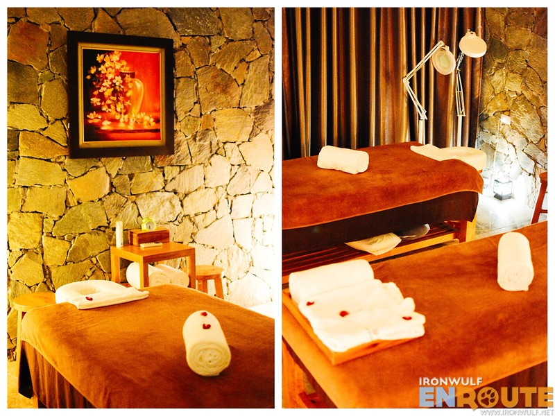 The Flamingo Spa massage beds