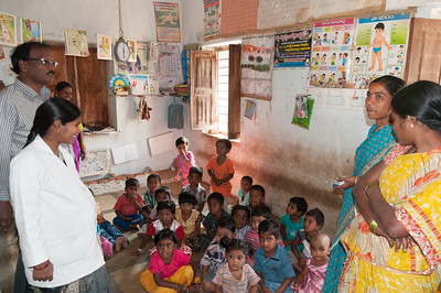 Village of Rajballaram - government children's center.