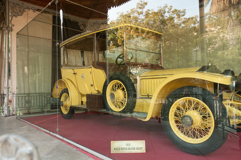 The highlight of the antique car collection at Chowmahalla Palace, Hyderbad.