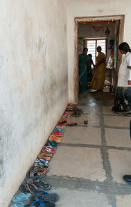 A government-run children's center. Village of Rajballaram, near Hyderabad.