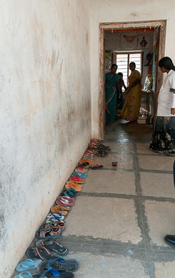A government-run children's center. Village of Rajballaram, near Hyderabad.