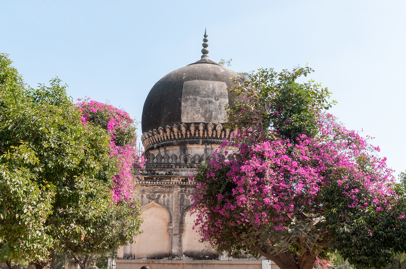 Tombs of Qutb Shahi kings, Hyderabad.