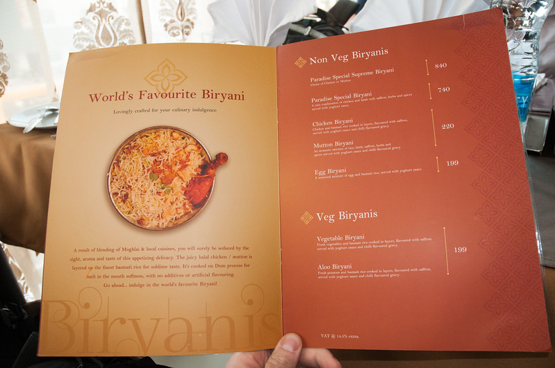 Paradise Biryani is perhaps the most famous place to eat classical biryani in Hyderabad.