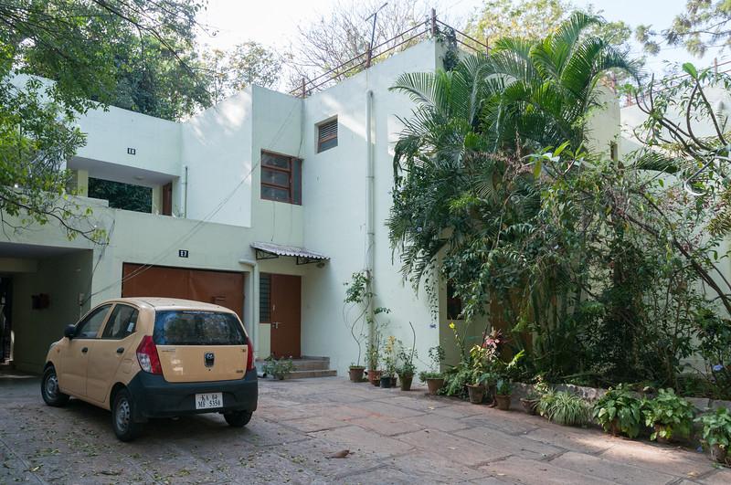 Our old apartment (E8) - IISc, Bangalore.