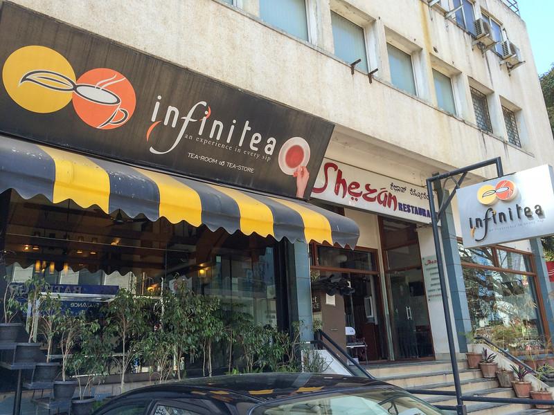 Infinitea, the best tea shop in Bangalore.