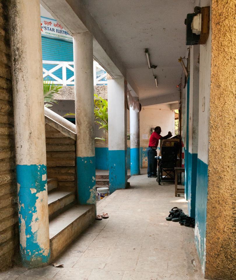 The bazaar, IISc, Bangalore.