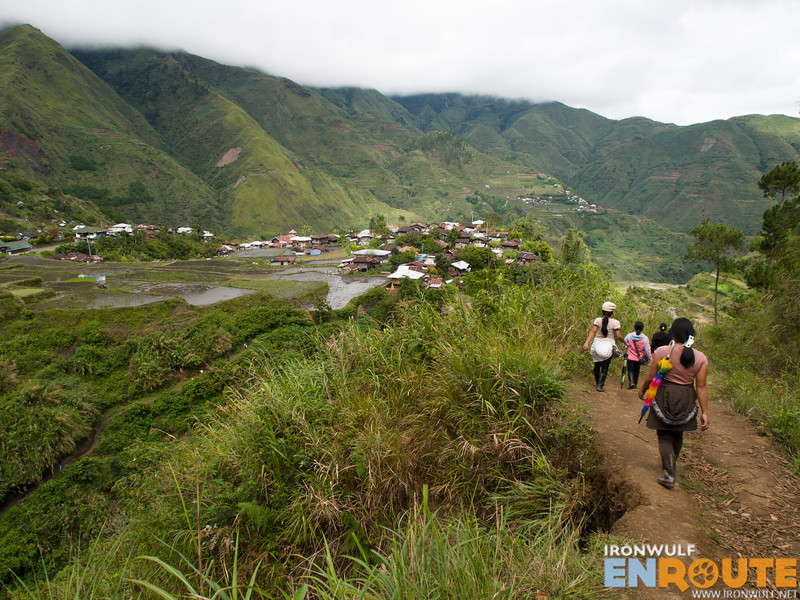 Locals heading to Tulgao Village
