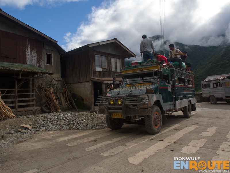 Where most jeepneys stop in Bugnay