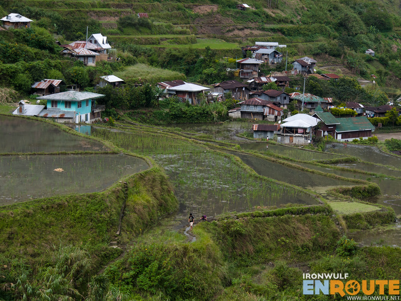 The village of Tulgao and their rice terraces