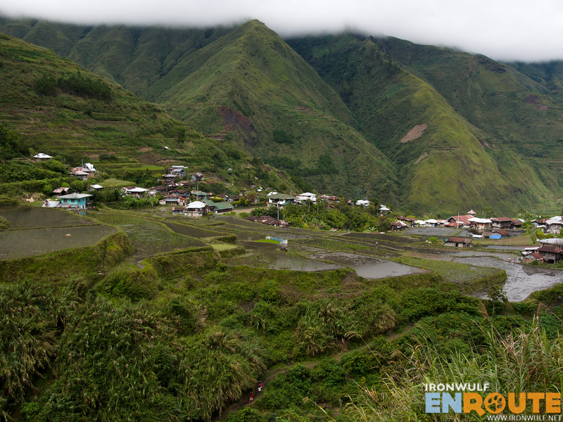 Tulgao Village and mountains