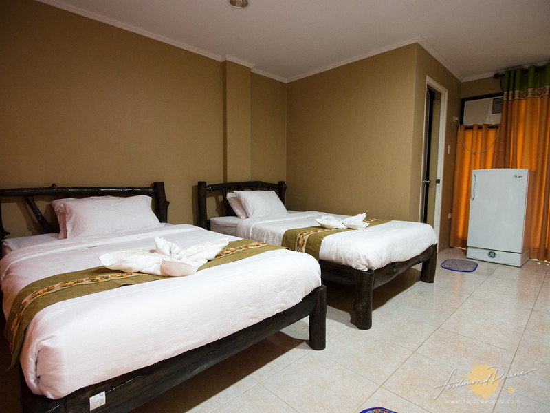 Our room at the Yakan Hall