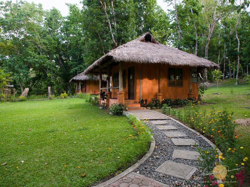 Pathway to Isanai native houses