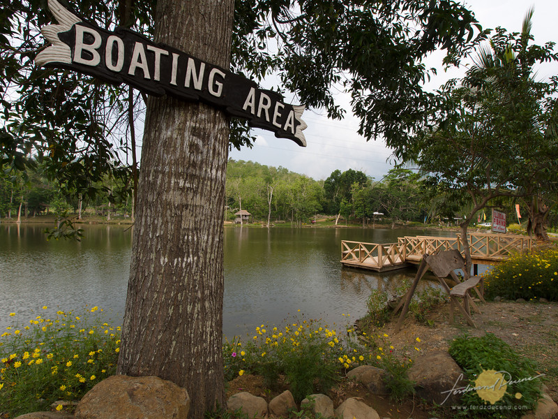 Boating area