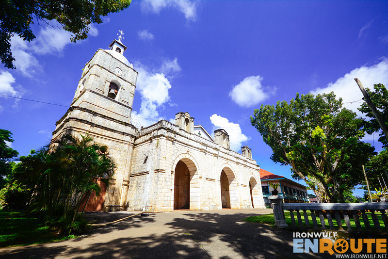 Another view of the Jimenez Church on the bell tower side