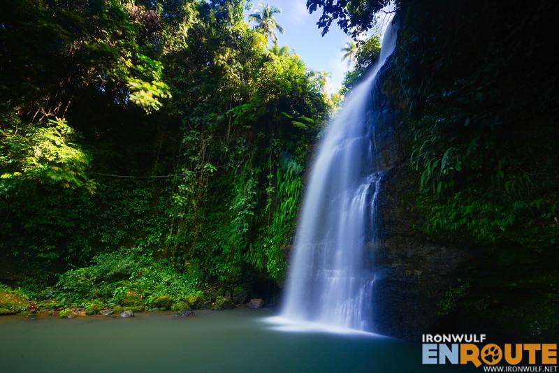 The alluring Sapa Dalaga waterfalls