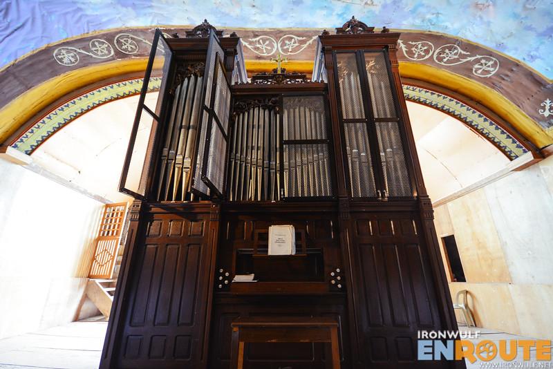 Original steel pipe organ installed in 1891
