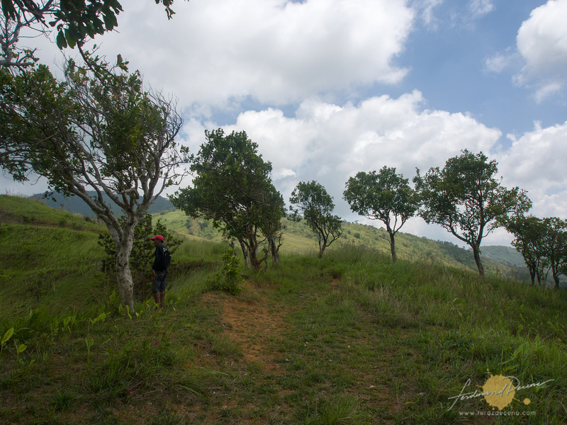 Our guide, Kuya Emil at the Duhatan Ridge