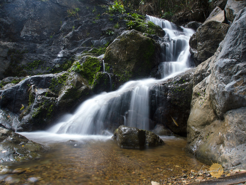 Stair like cascades of Kay-Ibon Falls