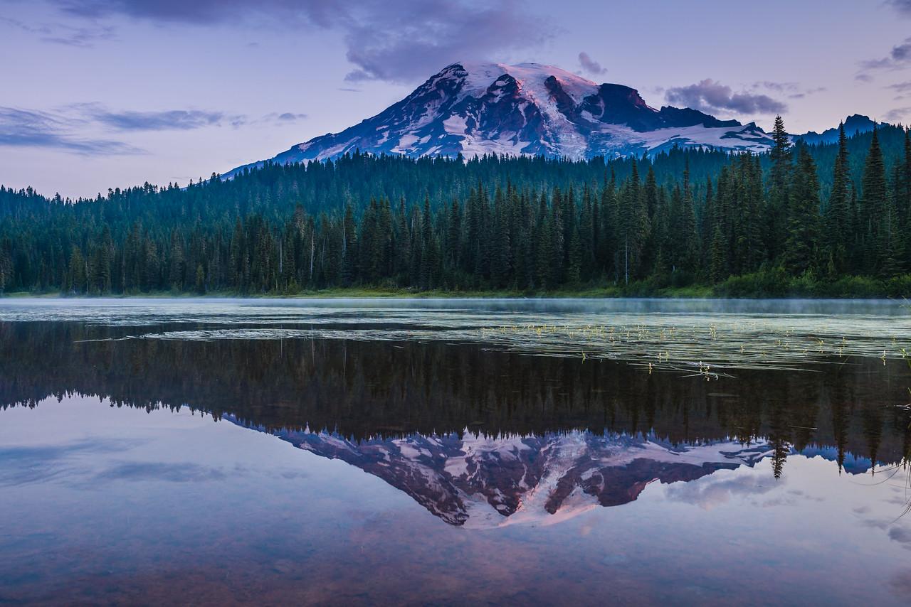 Mt Rainier Reflection Lakes