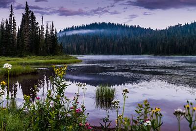 Dawn at Reflection Lake