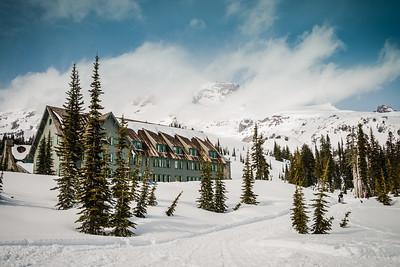 Paradise Lodge at Mt Rainier