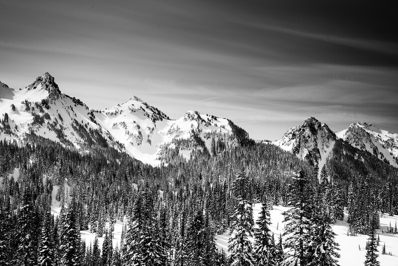 Tatoosh Range from Mt  Rainier Paradise