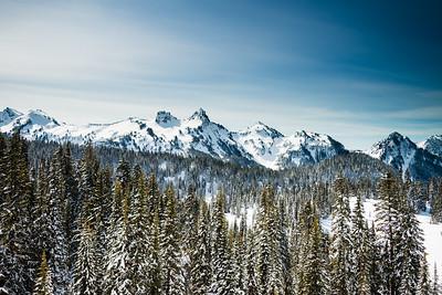 Mt Rainier February 2014