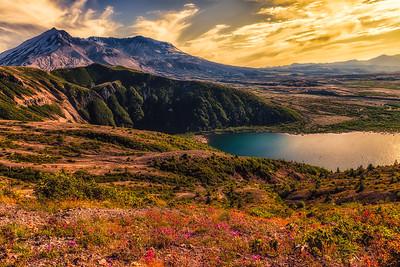 Mt St Helens from Windy Ridge