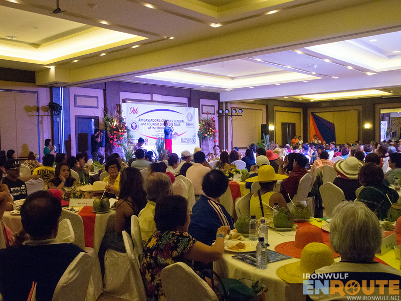 The Baia Ballroom with the delegates from ACGTDT event