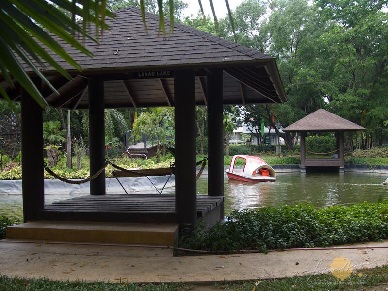 Boating lagoon area