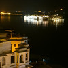 Udaipur lake from our hotel