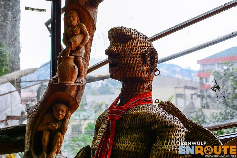 Beautiful sculptures of ifugao art