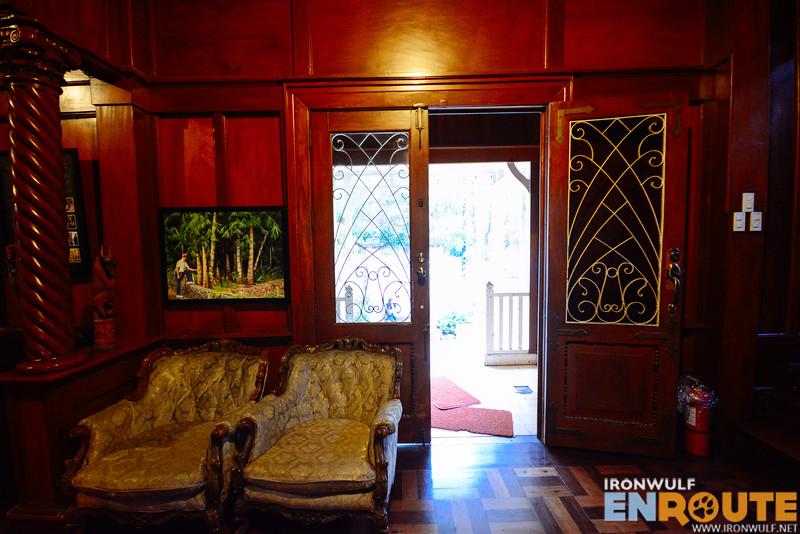 Main door of the house