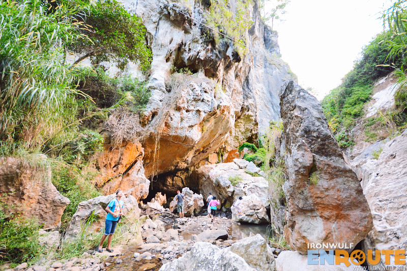 Arriving at Latang Cave where the Sagada Underground River flows