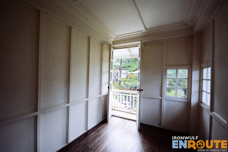 Empty room at the third floor