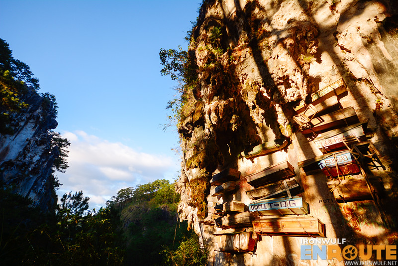The Sagada Hanging Coffins is just a small part of their death and post burial traditions