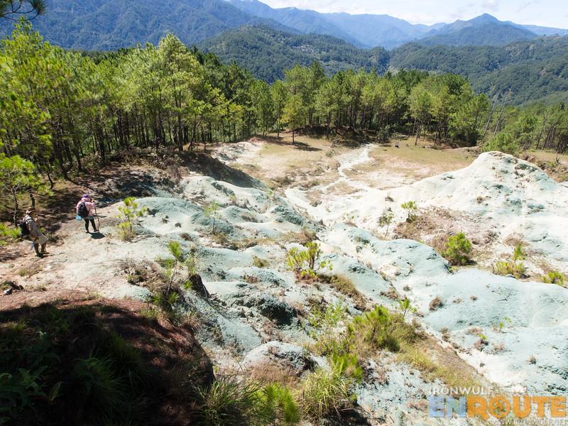 Trekking to the Blue Soil Hills
