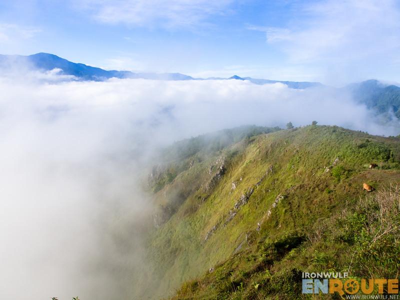 Cloudy ridge