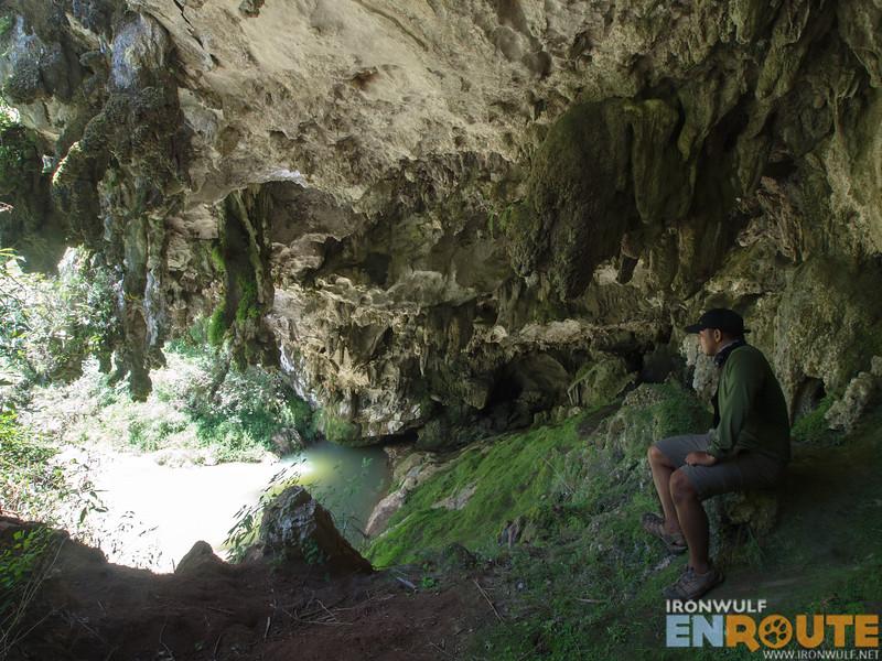 At the mouth of Balangagan Cave