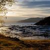 Petit Sageunay area at low tide as the sun sets.