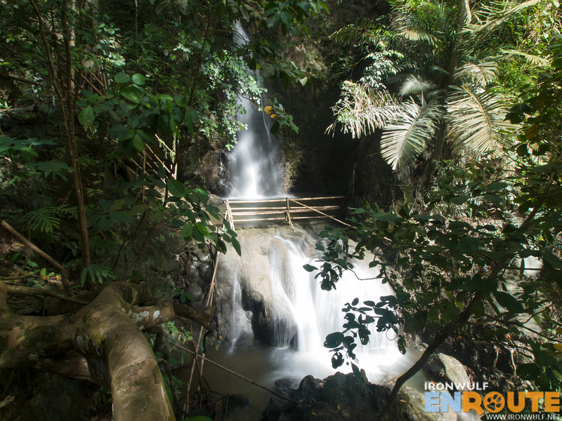 View of Tagbaobo falls from afar