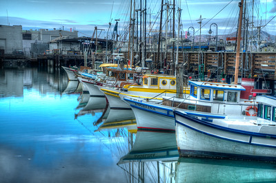 Harbor Reflection