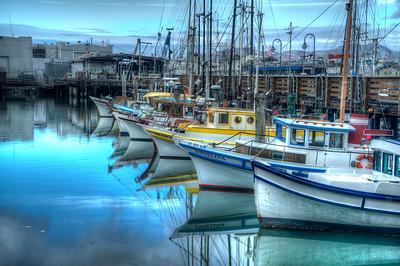 Harbor Reflection