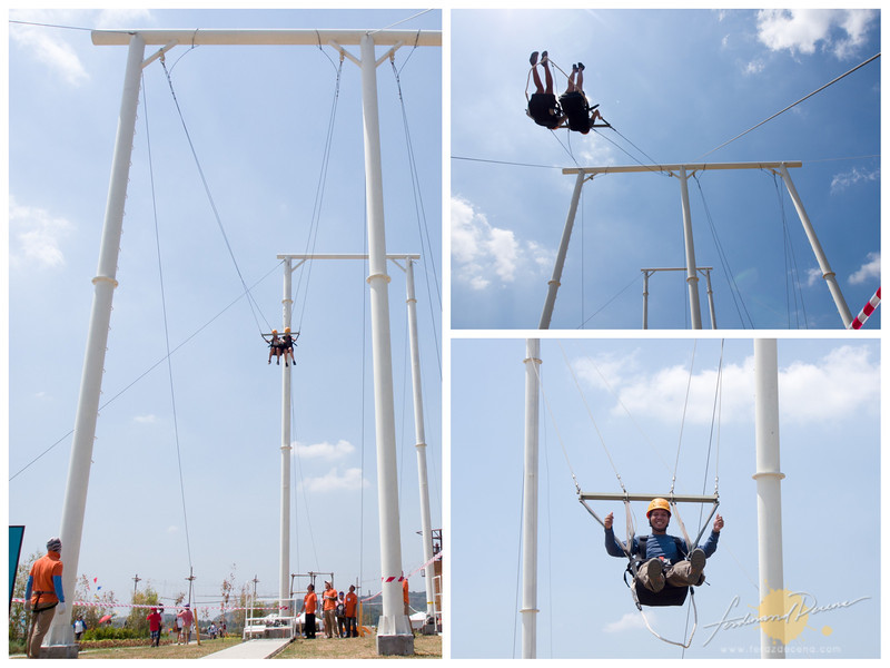 The 10-meter high Giant Swing