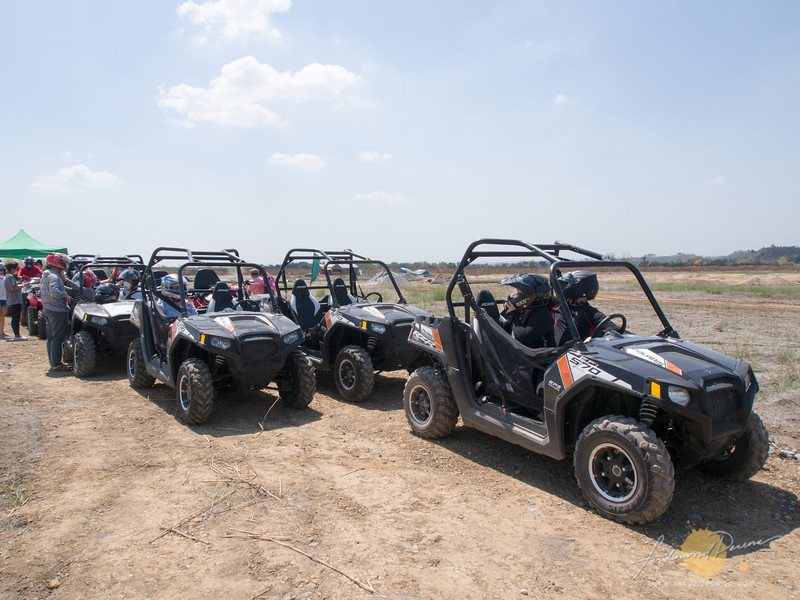 The buggies and ATVs