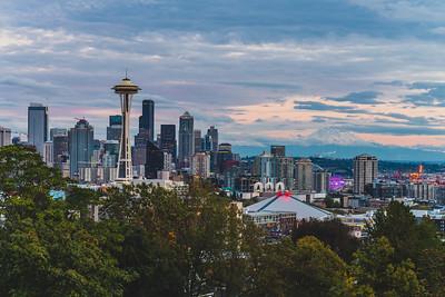 Seattle at Night