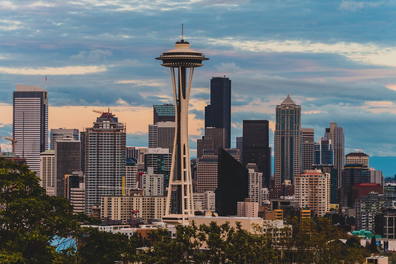 Seattle at Dusk