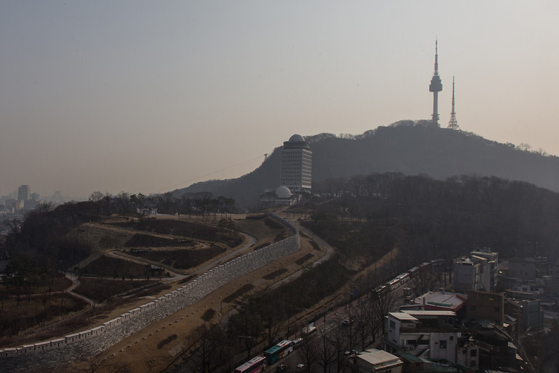 Namsan Park and Seoul Tower