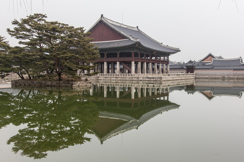 Near Gyeongbokgung Palace, Seoul