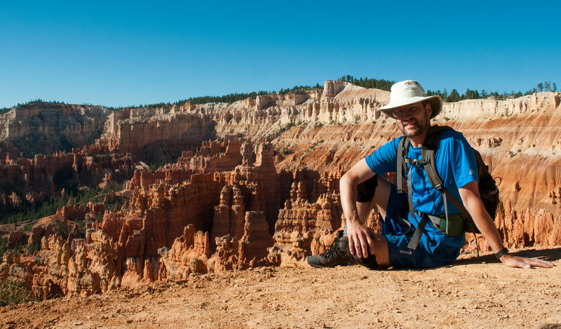 David at Bryce Canyon Amphitheater